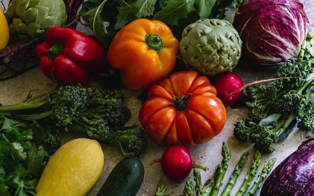 Start Here: Eat More Vegetables.