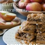 Paleo Apple Pie Crumb Bar Dessert Recipe