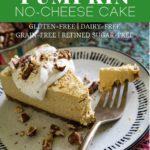 Paleo, Vegan Pumpkin Cheesecake Recipe