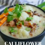 Dairy Free Cauliflower Chowder