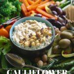 Healthy Cauliflower Hummus