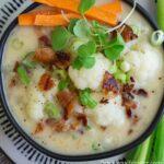 Paleo Cauliflower Chowder